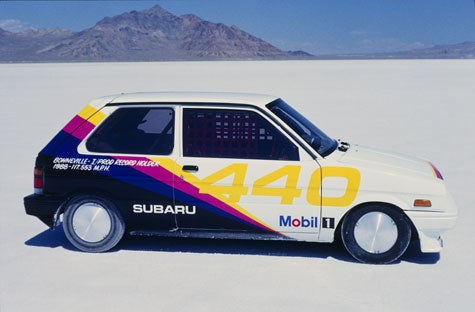 Super Salty: 123 MPH Subaru Justy