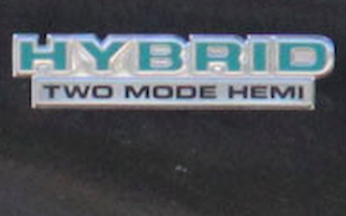 2010 Dodge Ram Hemi Hybrid