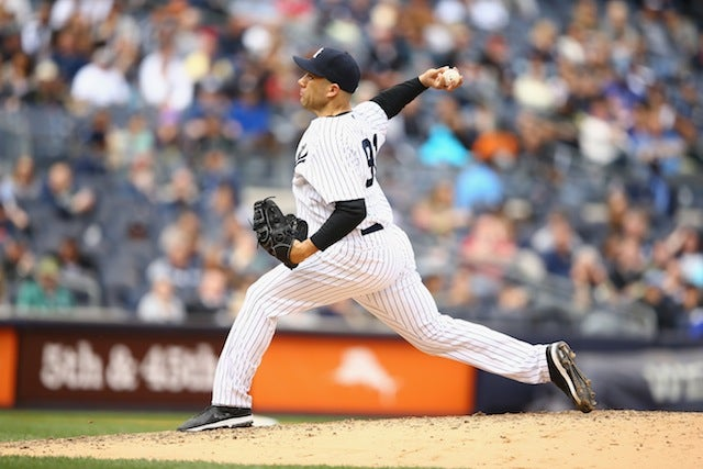 Yankees Reliever Suspended 50 Games For Fun Drugs