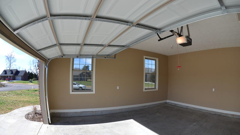 how to make a garage door more secure 1