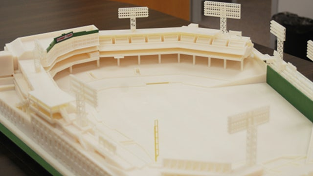 This Intricate Replica of Fenway Park Is an Awesome Example of 3D Printing