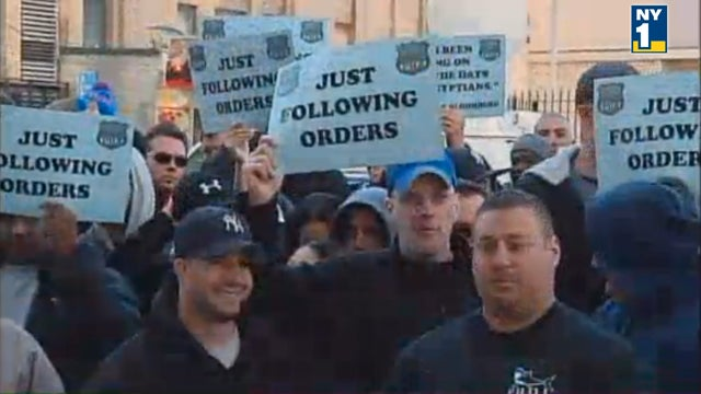 Dear NYPD: 'Just Following Orders' Is Not a Good Slogan