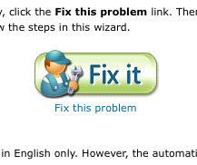 "Microsoft ""Fix it"" Automatically Takes the Steps to Fix Problems for You"