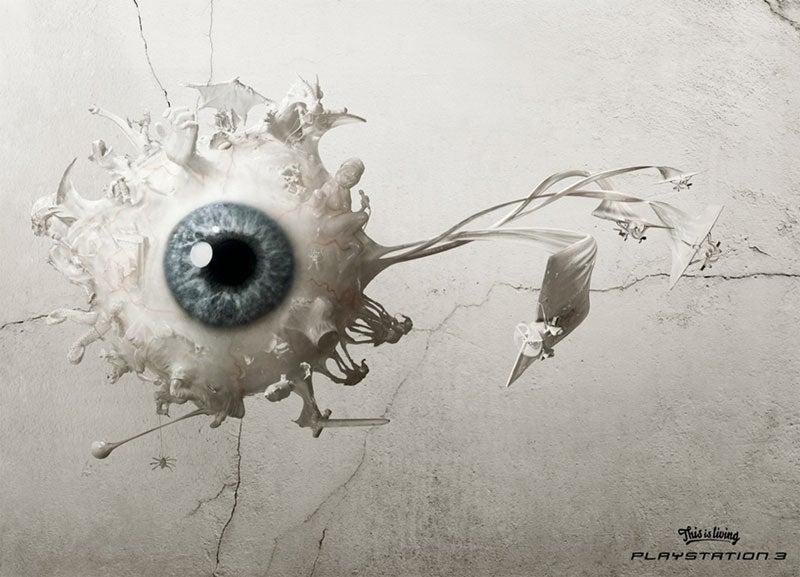 Saw 3D's Eyeball Poster Looks Disturbingly Familiar