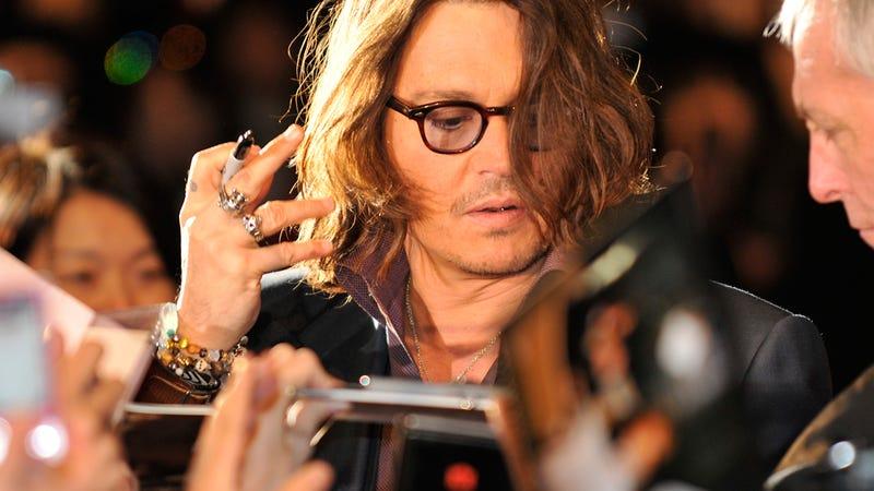 Johnny Depp Radiates Pure, Warm Light