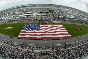 """God Made NASCAR,"" according to pro-American internet commenters"