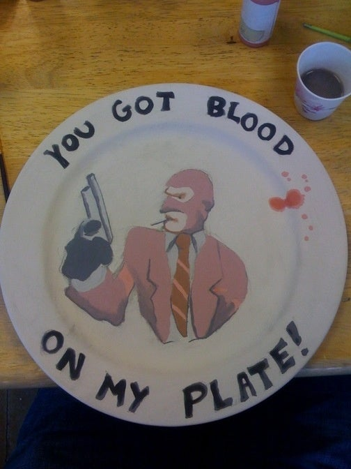 Spy Plate Will Sap Dinner