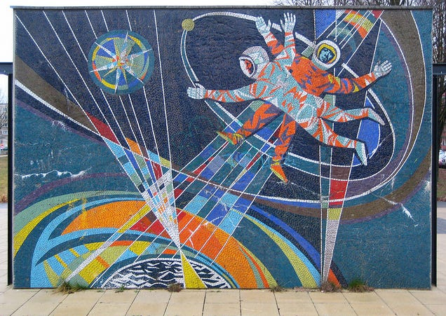 The Most Inspiring Space-Themed Murals From Ex-Soviet Bloc Countries