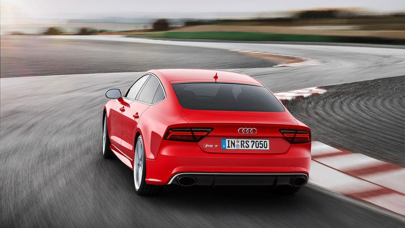 The 2015 Audi RS7 Gets New LEDs Because It's An Audi