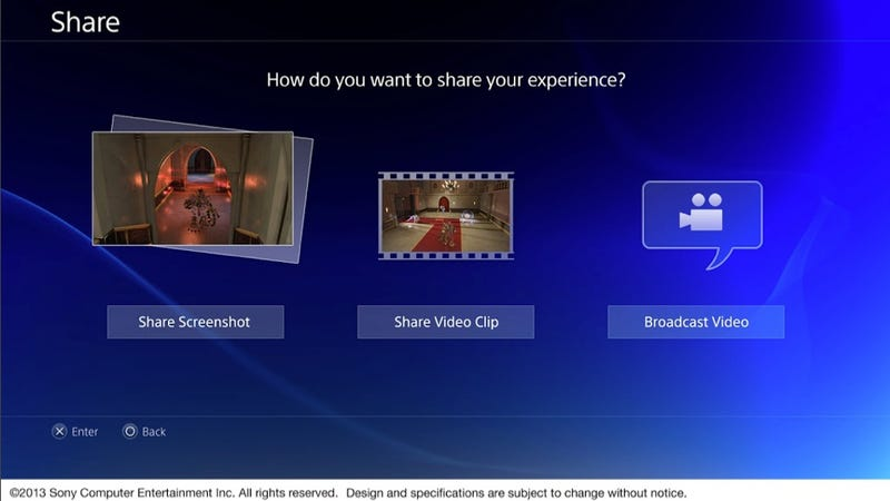 Get a Good Look at the PS4 User Interface