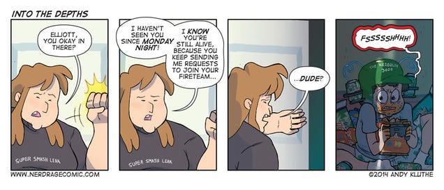 Sunday Comics: You're Off Team Mermaid