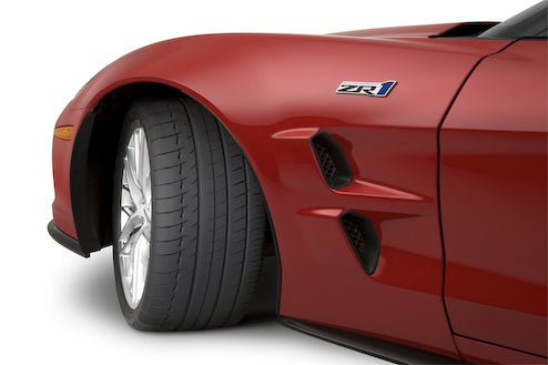 Secrets Of The 2009 Corvette ZR1: Michelin Pilot Sport PS2 Tires