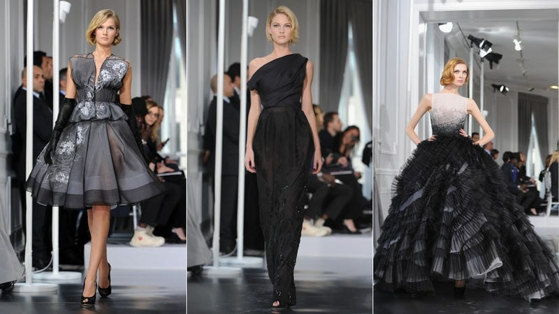 Dior Couture, for the Beautiful and Empty