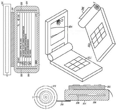 Motorola Patent For Folding, Roll-Up Phone: Moto ROLR?