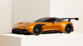 Aston Martin Vulcan in Burnt Orange