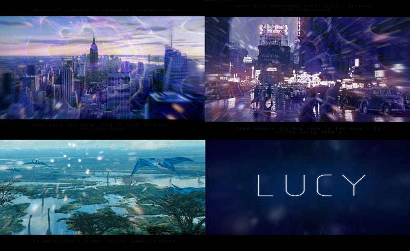 Wild Concept Art For The Trippy Final Moments Of Luc Besson's Lucy
