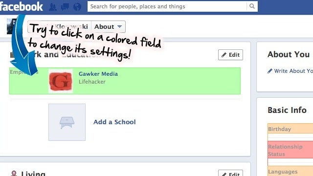 Facebook Privacy Watcher Color Codes Your Privacy Settings