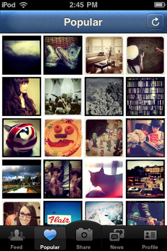 Instagram is a Photo-Based Social Networking Feed for iOS