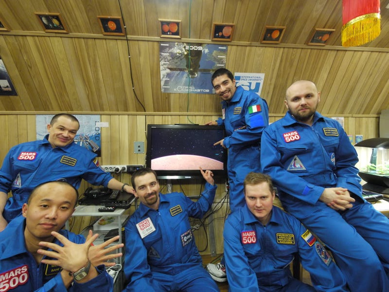Can Six Astronauts Live Together for 17 Months And Not Go Crazy?