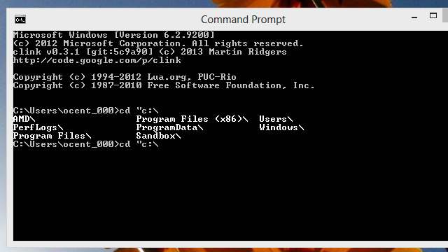 Clink Adds Undo, Pasting Text and More to the Command Prompt