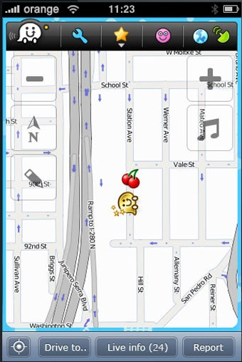 Waze Turn-By-Turn App Lets You Play Pac-Man With Your Car