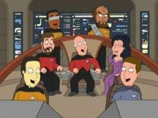 Family Guy's Star Trek Special Spurs Trekkie Debate