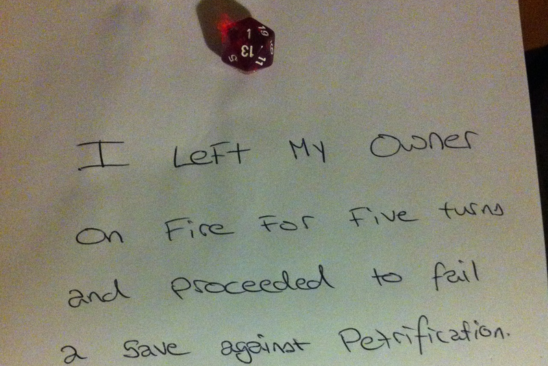 RPG Dice Shaming