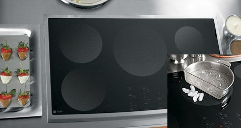 New Induction Cooktops from GE Are the Highest Wattage Ever