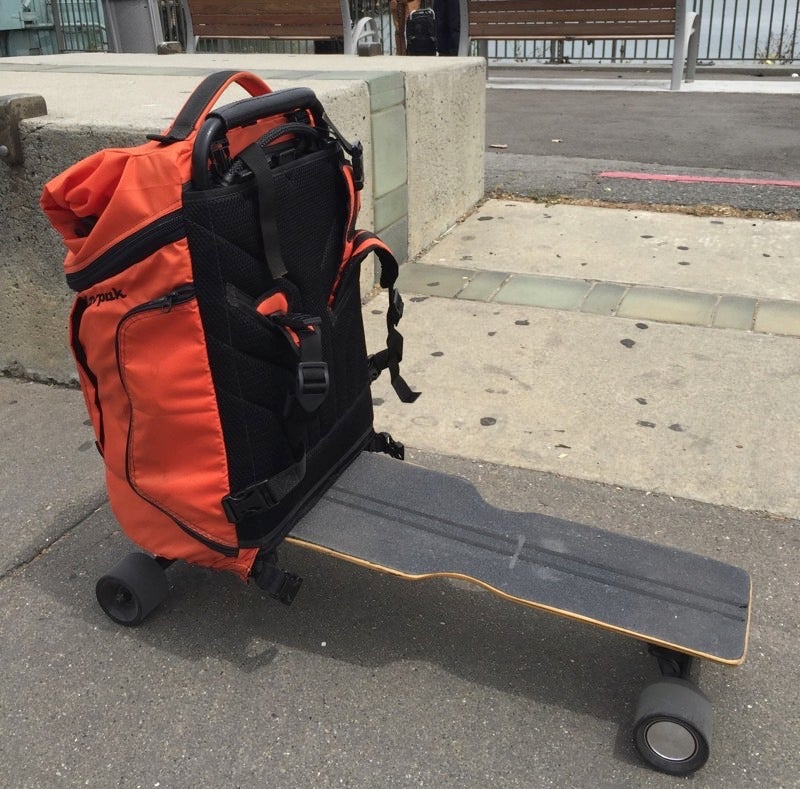 The Movpak Is Like Having a Very Convenient Car on Your Back