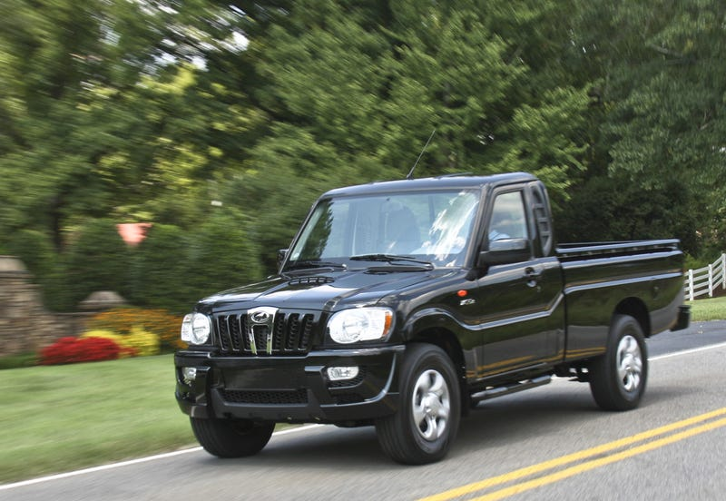 Mahindra Diesel Pickup Truck, Reviewed
