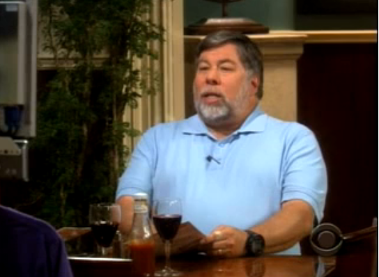 Watch Steve Wozniak On Last Night's Big Bang Theory