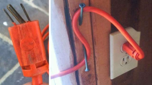 Secure Extension Cords with a Simple DIY Cleat