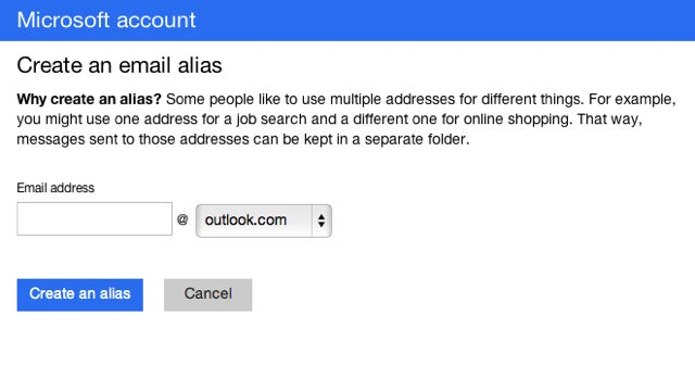 Making an Alias for Your Outlook Account Is Crazy Easy