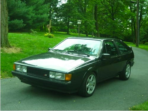 For $3,500, the answer my friend is blowin' in the Scirocco