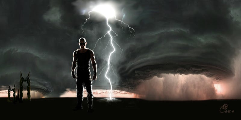 Does this new Riddick concept art blame the apocalypse on our favorite Furian?