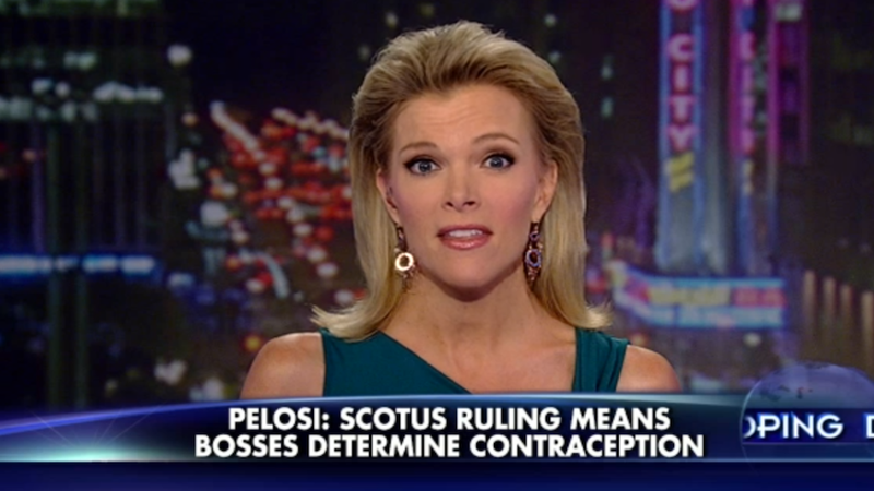 Megyn Kelly Says Nancy Pelosi Is Sexist (Against Men)