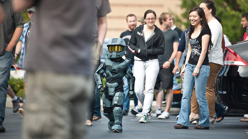 Say Hello to the Cutest Master Chief