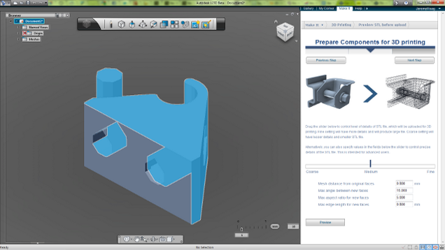 Autodesk 123D Lets You Print Your Own 3D Objects with or Without a 3D Printer