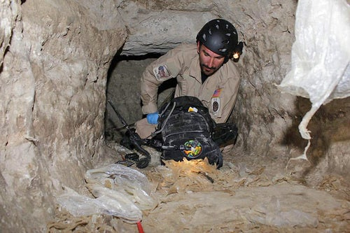 Here's the Drug Smuggling Tunnel Discovered with 30 Tons of Pot In It