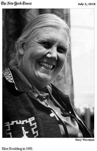 Peace Advocate Elise Boulding Dies At 89