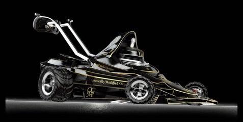 The F1 Concept Lawn Mower Hauls Grass