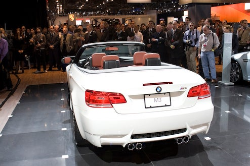 BMW Unveils M3 Convertible Again, This Time In New York, Will Cost $65,700