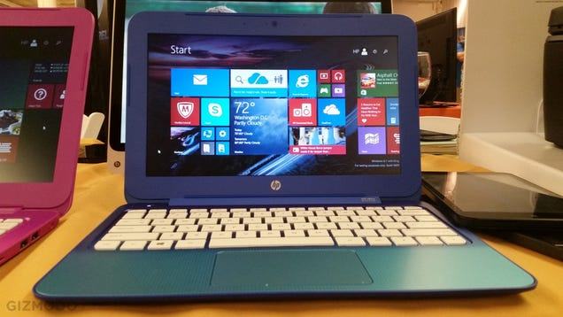 HP Stream 13.3 and 11.6 Hands-On: Full Windows on a $200 Budget