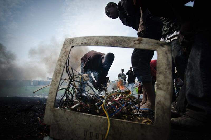 E-Hell on Earth: Where the West's Electronics Go to Die