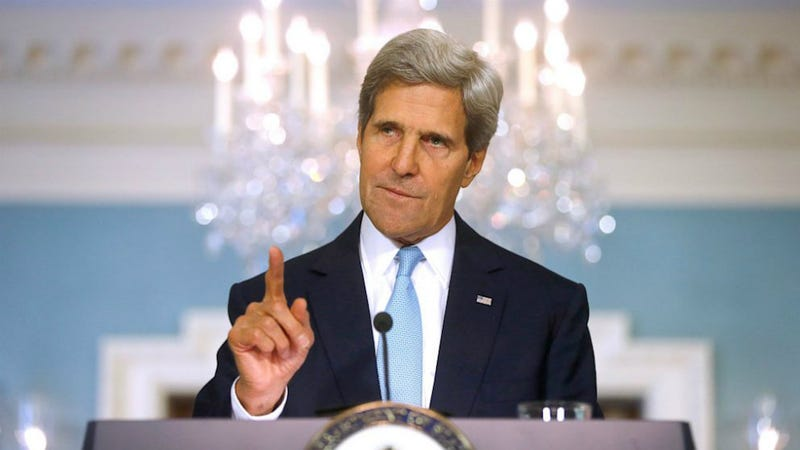 Kerry Says The Administration Has Evidence Assad Used Sarin on Syrians
