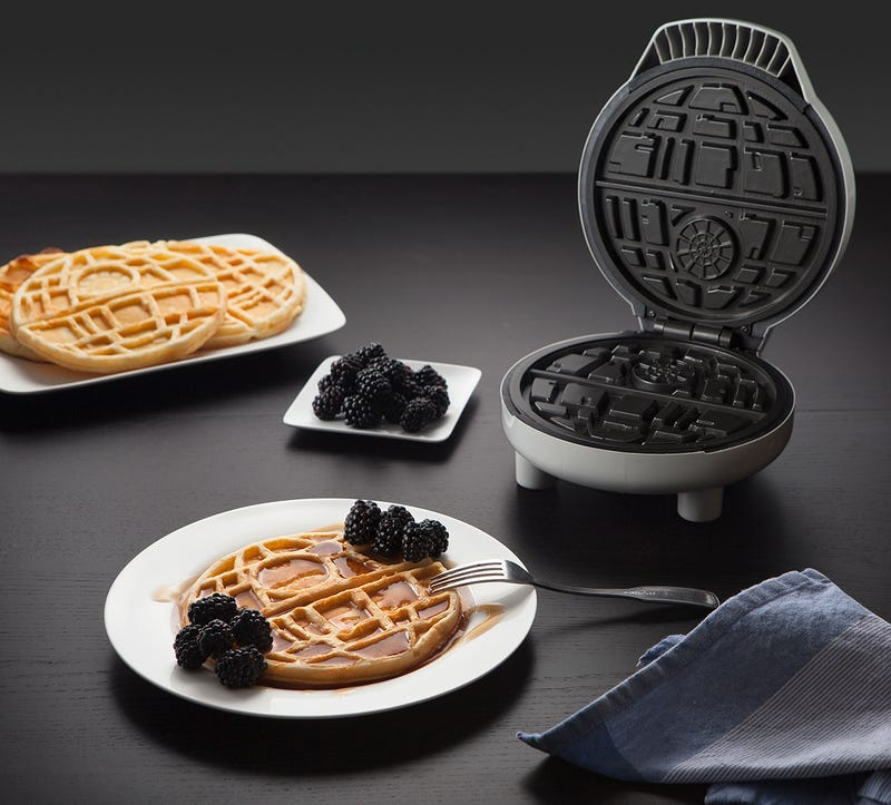 Do Death Star Waffles Taste Better Than Regular Waffles? Of Course They Do