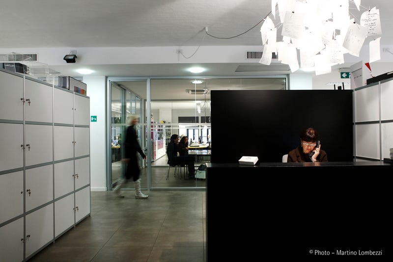 Inside the Offices of Moleskin - Milan Gallery