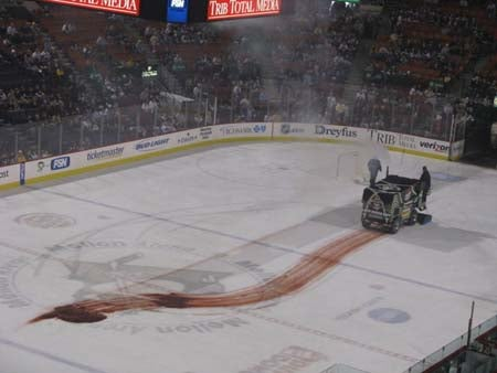 There Will Be Transmission Fluid: What Happens When Your Zamboni Fails