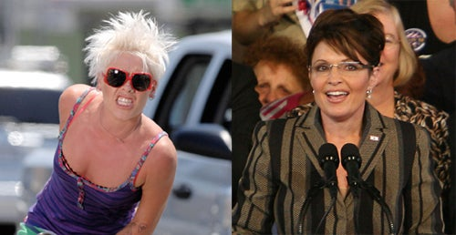 "Pink On Palin: ""This Woman Hates Women"""