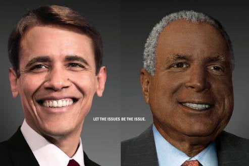 Obama And McCain In Race-Switch Surprise!